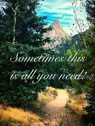Nature it s all you need