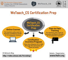 free weteach cs computer science cs certification prep course