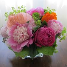 Peonies Delivery Florist For Toronto By Grace Lewicki Summer Peony Arrangement