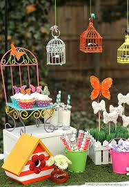 Birthday Decoration Ideas For Kids At Home Whimsical Kids Garden Party Ideas Celebrations At Home