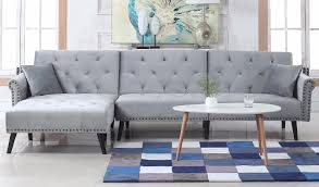 Sofabed With Chaise Futons Sofa Beds Sleeper Sofa U0026 Futon Sofamania