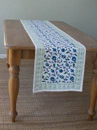 table runner white table runner floral table runner wedding table runner