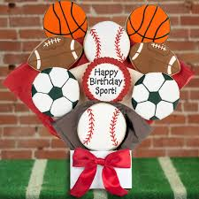 Cookie Bouquets Happy Birthday Sport Cookie Bouquet Cookie Bouquets