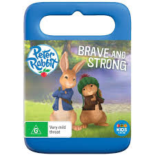 rabbit dvds rabbit brave and strong dvd big w