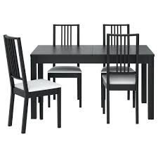 Ikea Dining Chair by Ikea Ingolf Ingatorp Dining Chairs X 6 And Bjursta Extenadlable