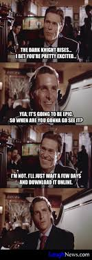 The Dark Knight Rises Meme - willem dafoe talking about the dark knight rises from laughnews com