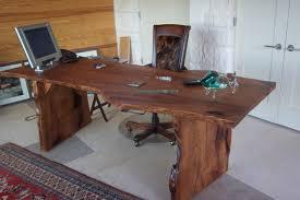 Desk Shapes Furniture Live Edge Wooden Desks Nat Edge Mesquite Desk Live