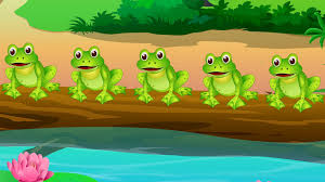 five little speckled frogs youtube