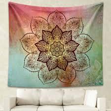 Beach Rug A Mandala Indian Boho Wall Carpet Beach Towel Square Tapestry And