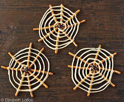 spooky spiderwebs candy recipe