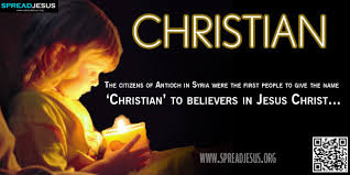 biblical definition of christian the citizens of antioch in syria