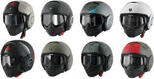 Motorcycle Helmet Lights Shark Raw Urban Motorcycle Helmet U2013 Coolpile Com