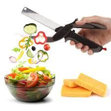 cutter de cuisine 2 en 1 clever cutter alimentaire chopper en acier inoxydable cuisine
