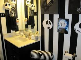 Christmas Bathroom Decor Amazon by Nightmare Before Christmas Inspired Room This Is A Guest Bath