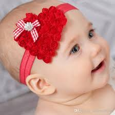 headbands for shape baby headbands for christmas with made