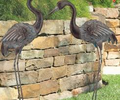 ornament awesome metal yard ornaments bird metal sculpture yard