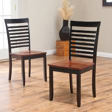 Cherry Dining Chair Boraam Bloomington Dining Chair Black Cherry Set Of 2 Hayneedle