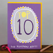 10th birthday card boy by molly mae notonthehighstreet com