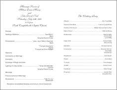 ceremony program templates fan wedding programs template personalized wedding programs