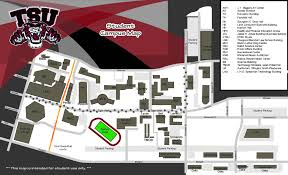 Gt Campus Map Tsu Campus Map Adriftskateshop