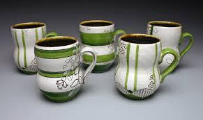 Decorating Porcelain Mugs Decorating A Mug With Underglaze And Sgraffito U2014 Carter Pottery