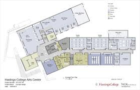 college floor plans hastings college announces the jackson dinsdale art center