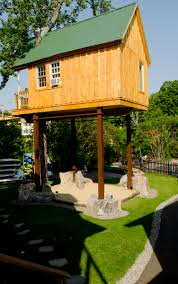 a tiny house on high laconia man builds a tree house for grown