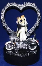 motorcycle wedding cake toppers 215 motorcycle wedding cake topper with harley davidson lit