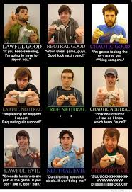 Alignment Chart Meme - gamer alignment chart which type of gamer are you weknowmemes