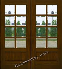 leaded glass french doors mahogany patio doors 8 lite french doors clear beveled glass