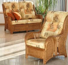 Sofas For Conservatory Furniture Cane Chair Plant Foam Motives Small Brown Tile Green