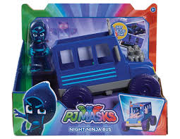 pj masks vehicle u0026 figure playset cat car gekko mobile owl