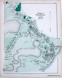 Suffolk County Massachusetts Maps And Village Of Chatham Ma Town And Village Maps Atlas Of Barnstable