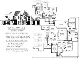 5 bedroom 1 story house plans 5 bedroom to estate size 4500 sq ft