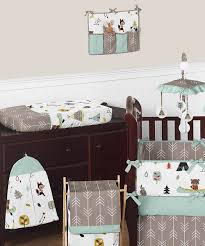 Nature Themed Crib Bedding Teddy Themed Nursery Cool The Hideaway Nursery For Baby
