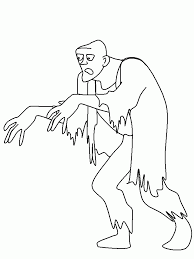 zombie coloring pages kids free desktop coloring zombie