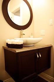 floating vanity with vessel sink 7 best powder room images on pinterest powder rooms dressing