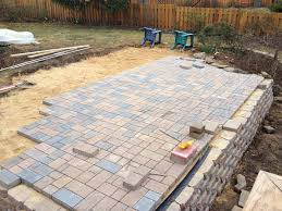 Patio Pavers Calculator Patio Paver Base Panel Home Design Ideas