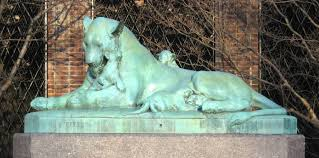 lioness statue the animaliers who brought nature to the city ephemeral new york