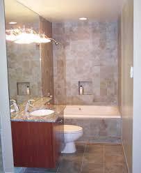 bathroom pretty small bathroom ideas with brown wooden vanity