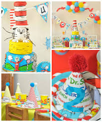 dr seuss birthday party ideas kara s party ideas colorful dr seuss birthday party