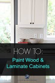Painting Kitchen Laminate Cabinets I Have To Honestly Say I Have Never Had The Guts To Recommend
