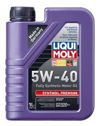 Amazon Com Liqui Moly 2041 Premium 5w 40 Synthetic Motor Oil 5