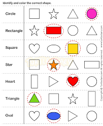 116 best shapes and colors images on pinterest preschool