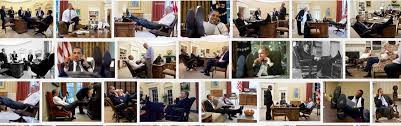 Feet On The Desk Dovbear Obama Bibi And The Feet On The Desk