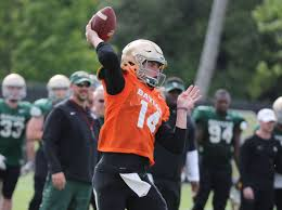 early enrollees turning heads at baylor spring football practice
