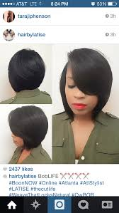 sew in weave short hair atlanta pin by olivia mcelveen on hair pinterest hair style bobs and