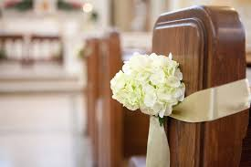 pew decorations for weddings church wedding pew decorations wedding decoration ideas gallery