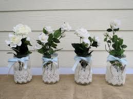 Mason Jars Wedding Centerpieces by Diy Mason Jar Wedding Centerpieces Decorating Of Party