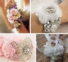 how to make wrist corsages alternative and non traditional wedding bouquets primadonna